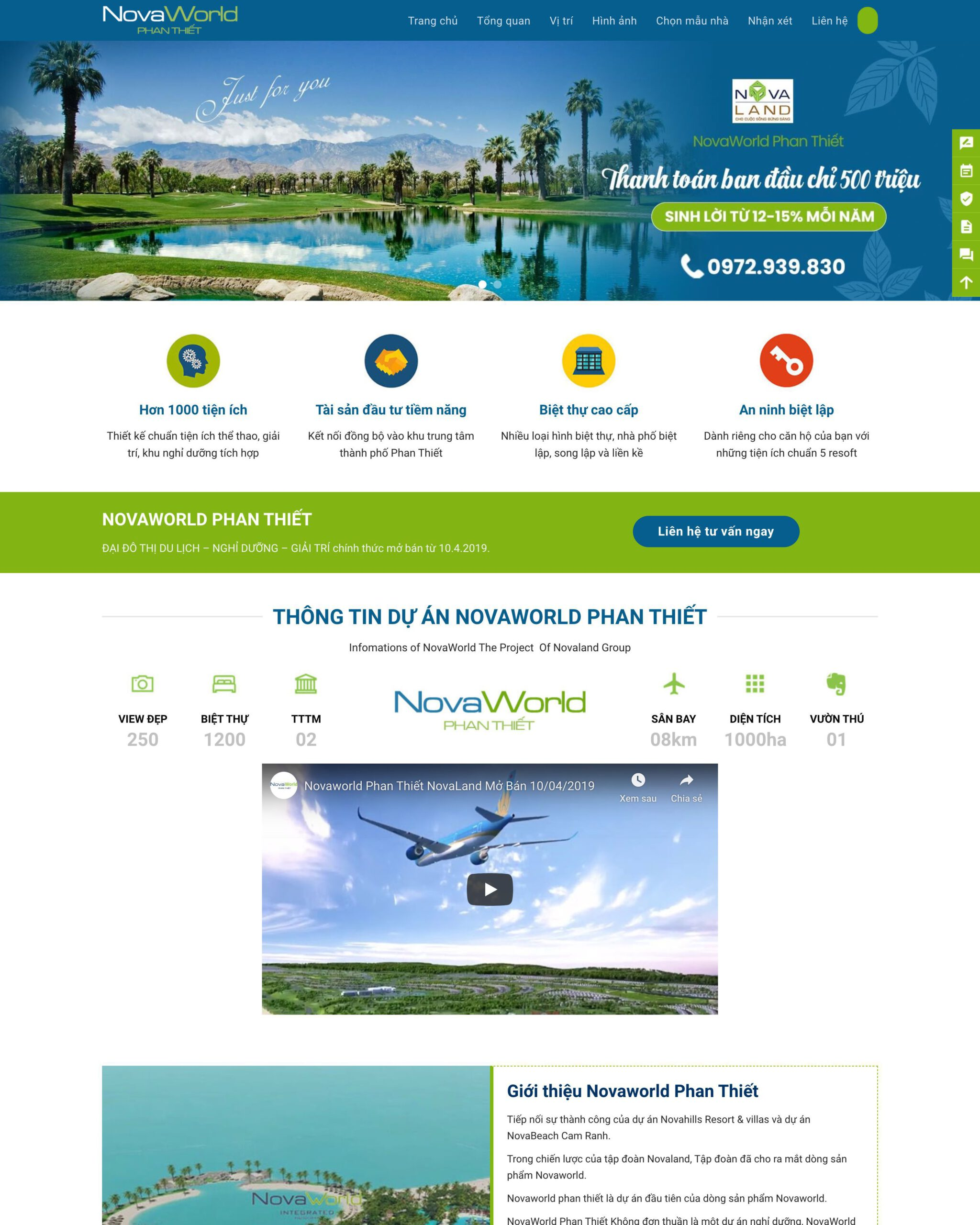 Website bất động sản 2