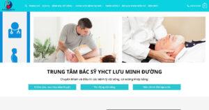 Thiết kế website Xoa bóp bấm huyệt