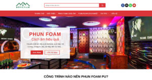 Thiết kế website Dịch vụ xây dựng