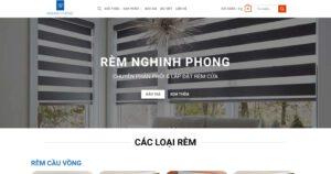 Thiết kế website Rèm