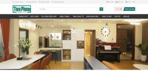 Thiết kế website Thi công nội thất