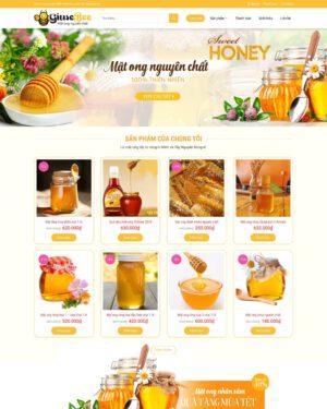 Website bán mật ong
