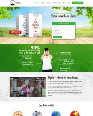 Website thực phẩm chức năng