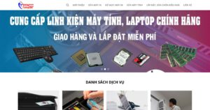 Thiết kế website Đổ mực máy in