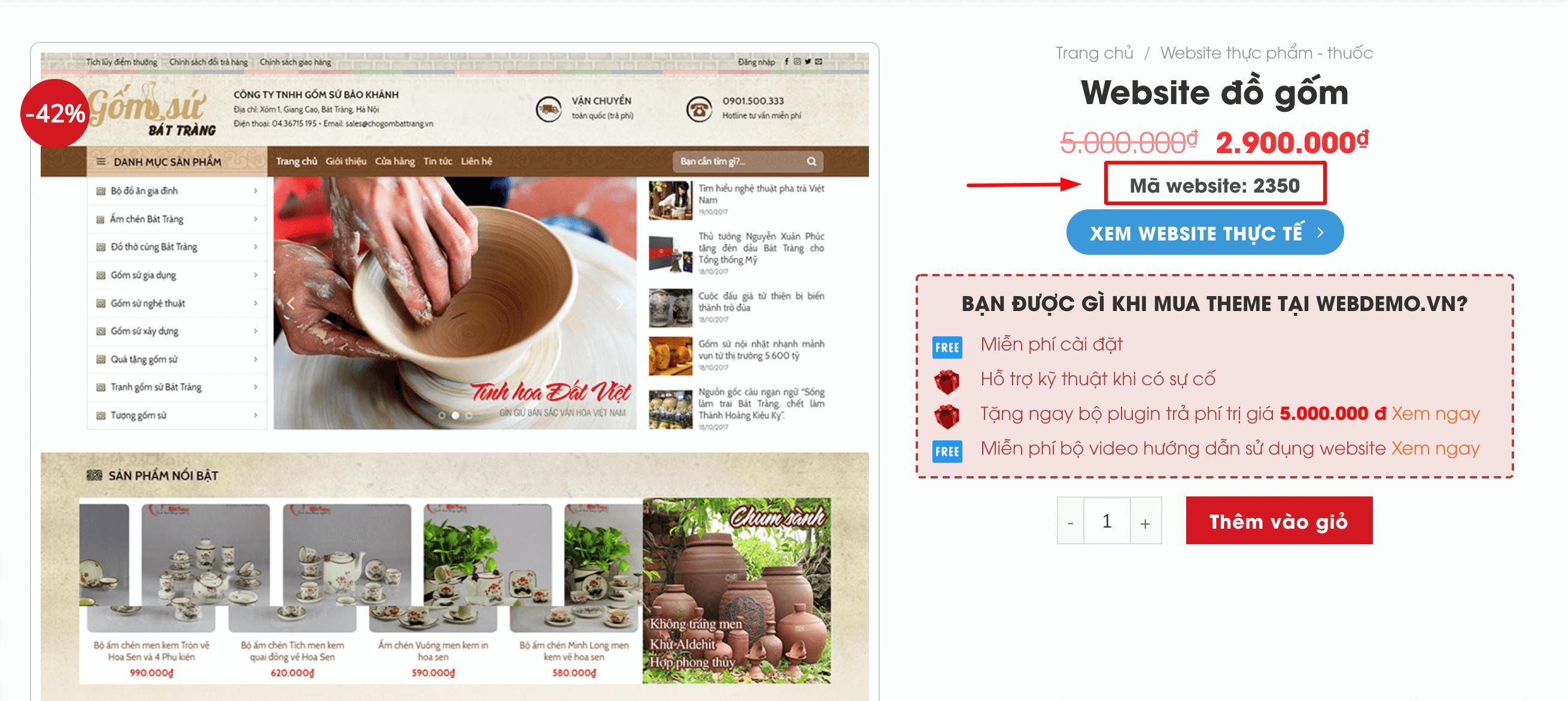Cách xem Mã Website ở các web mẫu